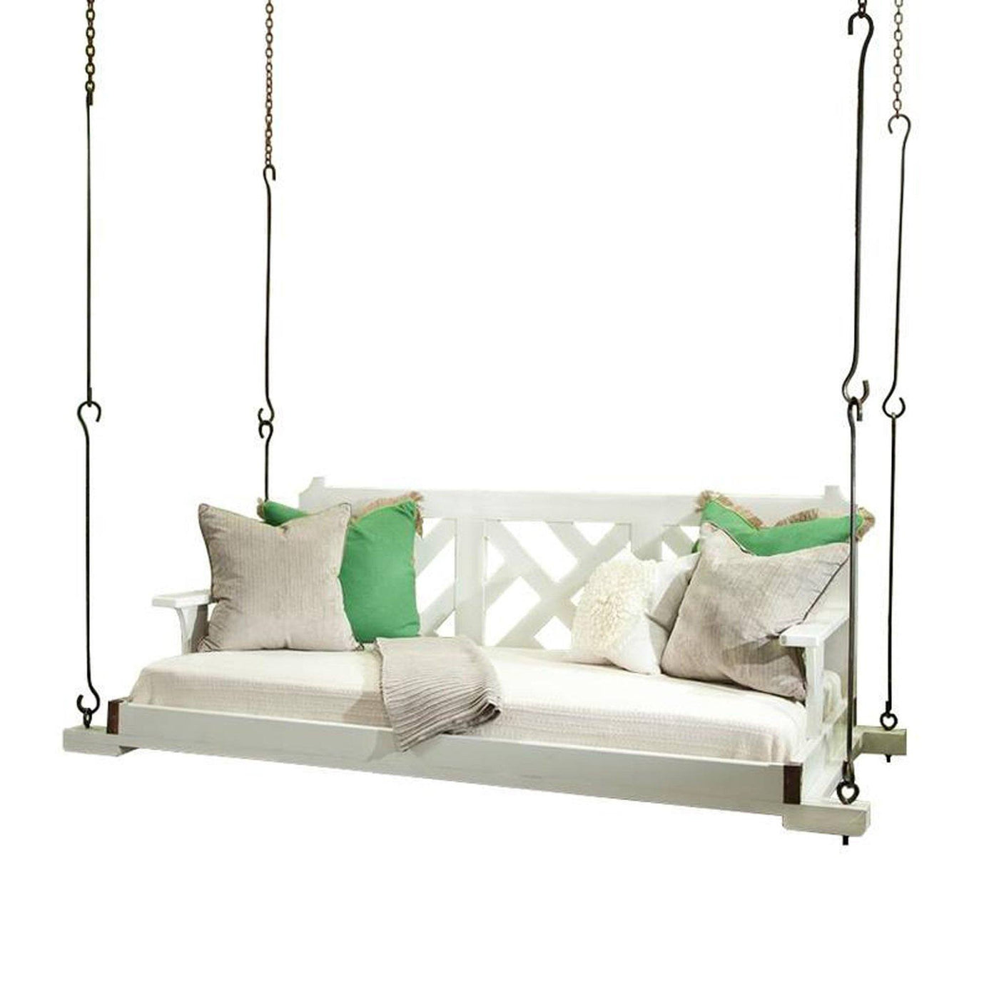 Swinging Day Bed With Back Sku Mdlcof10cddw Our Boat House