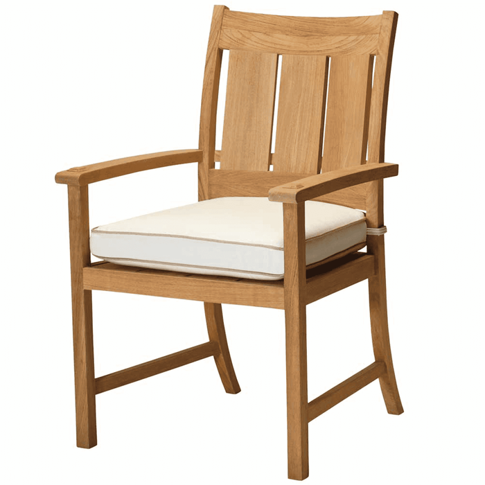 Cape Cod Natural Teak Outdoor Dining Arm Chair