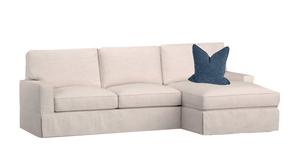 "Carmel Slipcovered Sectional-1 103""x62"" Slipcovered Sectional"