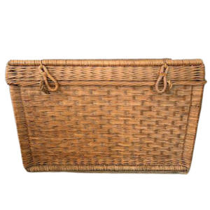 Wicker Trunk Basket