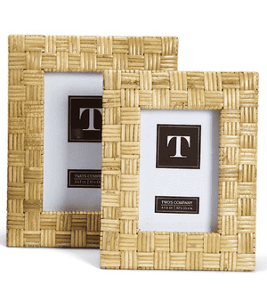 Woven Island Rattan Frames - Two Sizes for Two Patterns Picture Frame