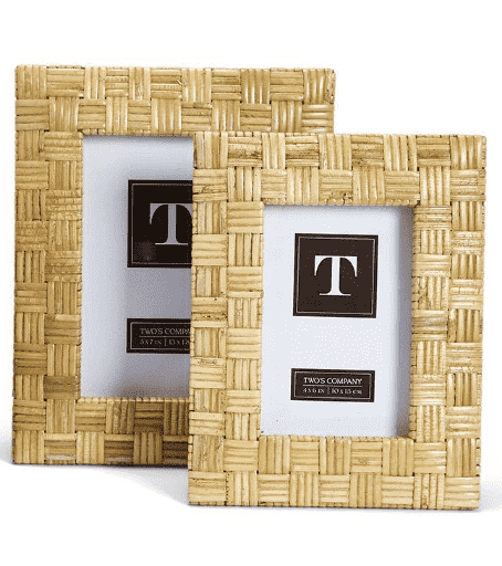 Woven Island Rattan Frames - Two Sizes for Two Patterns