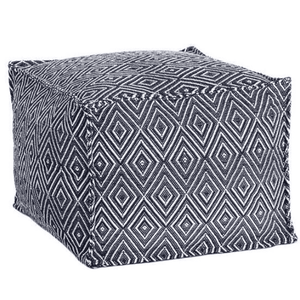 Diamond Indoor/Outdoor Pouf Pouf