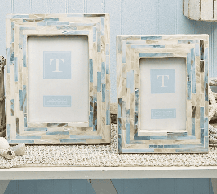 Dover Mother of Pearl Frames - Two Sizes
