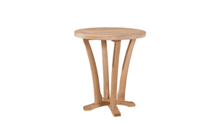 Eastern Shores Round Teak Side Table