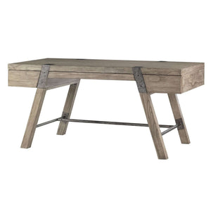 Hampton Gray Driftwood Desk Desk