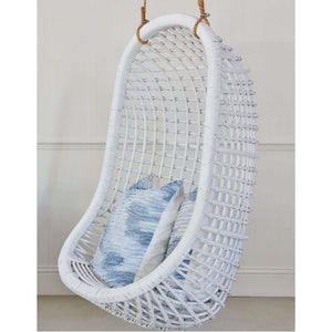 Hanging Rattan Chair White Accent Chair