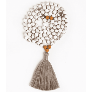 I Am Patient Mala - Rudraksha Jewelry