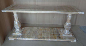 Column Base Console Table Console
