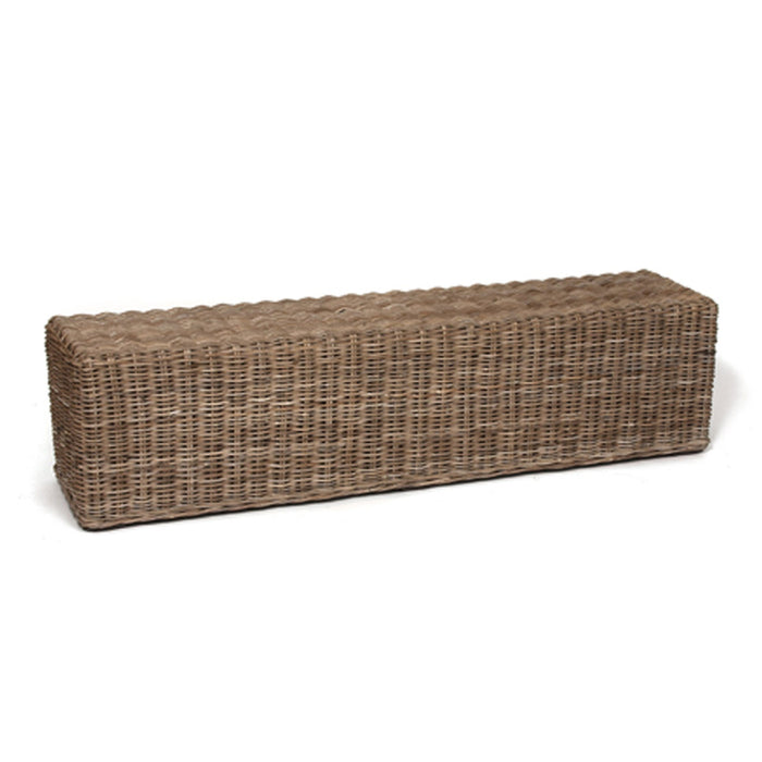 "Kona 71"" Wicker Willow Bench"