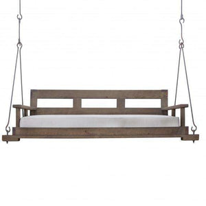 Nantucket Hanging Day Bed with Back (Iron) Hanging Bed