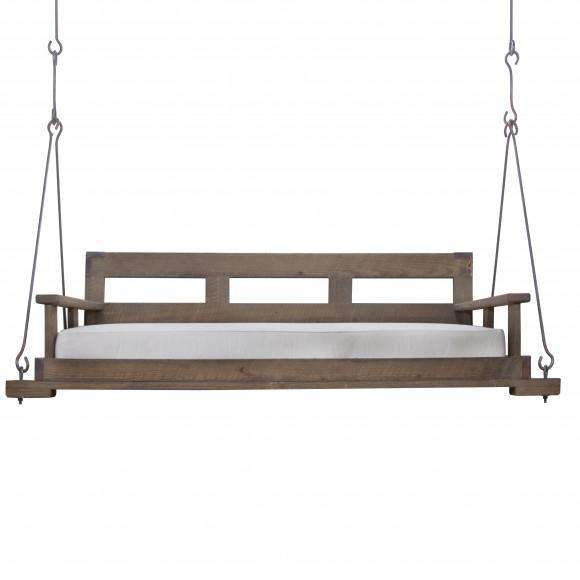Nantucket Hanging Day Bed with Back (Iron)