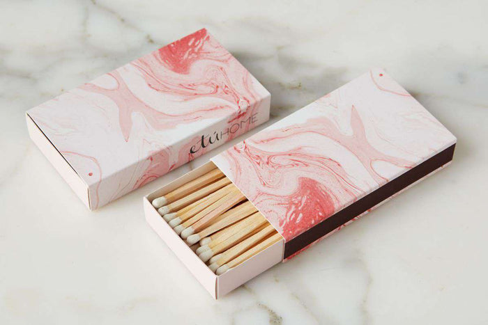 Oversized Matches - Rose