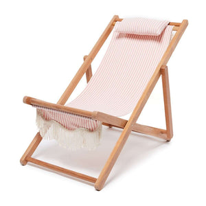 The Sling Beach Chair - Lauren's Pink Stripe Beach
