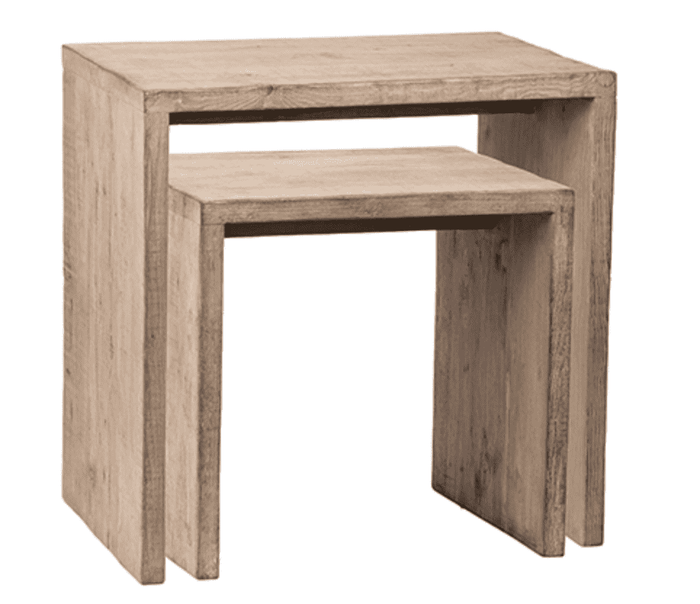 Madeira Beach S/2 Nesting Tables