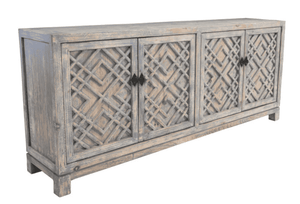 Rosemary Beach Blue-Wash Sideboard