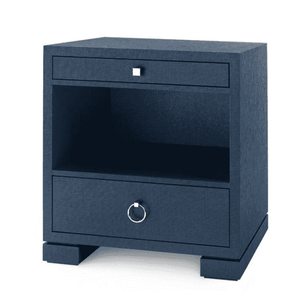 Colombier 2-Drawer Side Table - Two Colors Nightstand