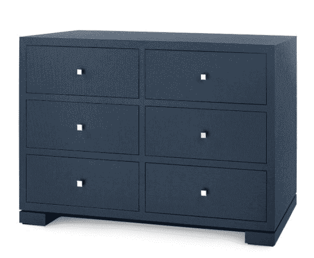 Colombier Large 6-Drawer Dresser - Two Colors