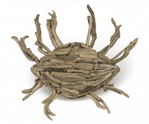 Driftwood Crab Wall Decor Wall Decor