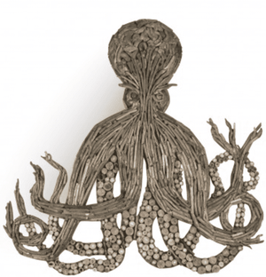 Driftwood Octopus Wall Decor Wall Decor
