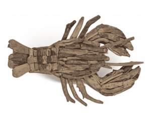 Driftwood Lobster Wall Decor Wall Decor