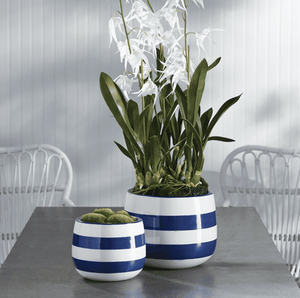 Seaside Ceramic Planters - Two Sizes Planter