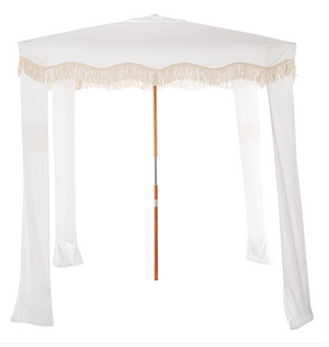 The Premium Beach Cabana - Antique White