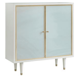"Seaglass 35"" Two-Door Tall Cabinet Cabinet"