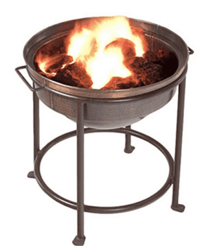 Giant Fire Pit Chiminea Fire