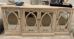 Woodstock Four-Door Mirrored Sideboard Sideboard