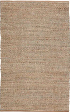 Himalaya Jute Rug - Ginger & Sea Glass