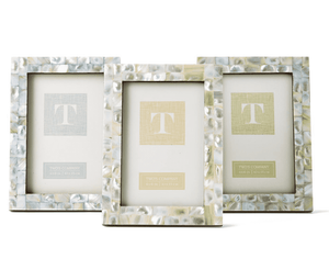 Mother of Pearl Hues 4x6 Frames - Three Colors