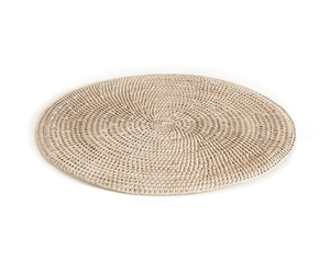 Burma Rattan Round Placemat Tabletop