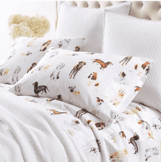 Watercolor Pup Sheet Set