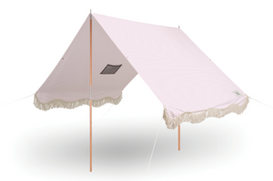 The Premium Beach Tent - Pink Stripe