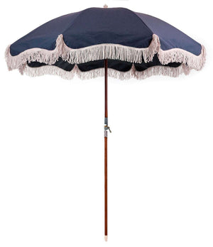 Premium Beach Umbrella - Navy Beach
