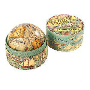Traveler's World Globe in a Box for Kids Kid