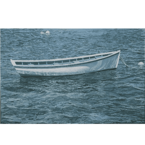 White Bahamian Rowboat, Giclee by Florida Artist (clck here for more details) Art