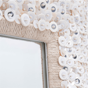 Abaco Small Shell Mirror Mirror