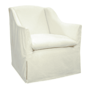 "Annapolis 30""w Slipcovered Swivel Chair Slipcovered Chair"