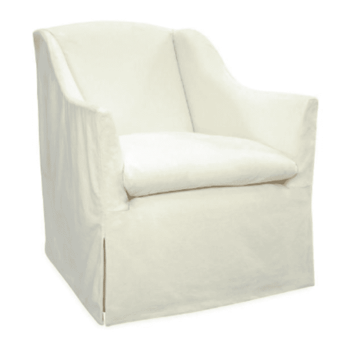 "Annapolis 30""w Slipcovered Chair"