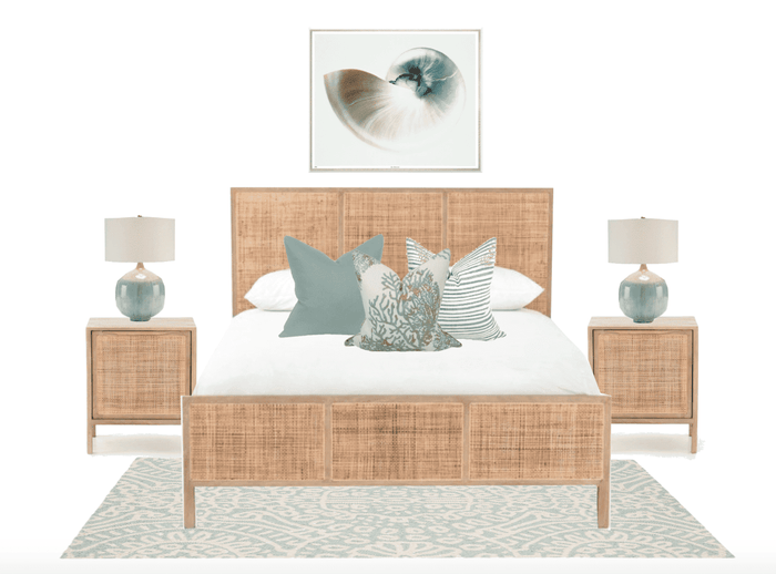 Master Bedroom Furniture Package - Aqua