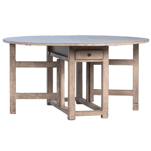 "Armand 60"" Drop Leaf Table Dining Table"