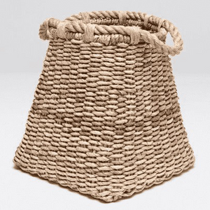 Lucas Banana Bark Wicker Baskets - Two Sizes