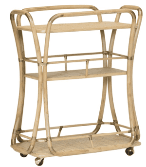Barbuda Bar Cart Bar Cart