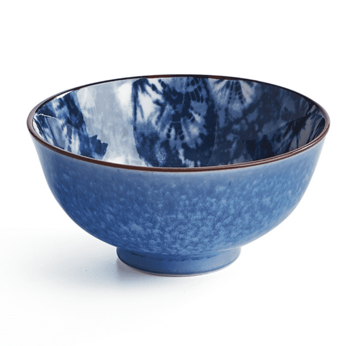 "Batari 4.75"" Indigo Bowls Set of 6"