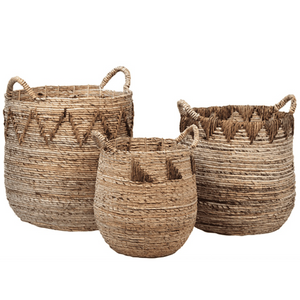 Batu Banana Leaf Baskets - Set of Three