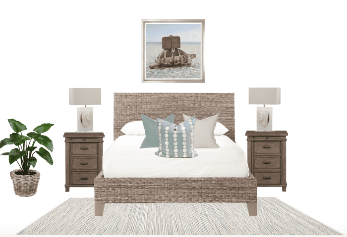 Guest Bedroom Furniture Package - Natural