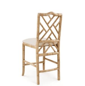 Biltmore Chippendale Natural Counter Stool Bar/Counter Stool