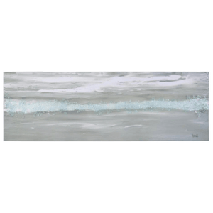 Blue Crush Glass Ocean Giclee Art